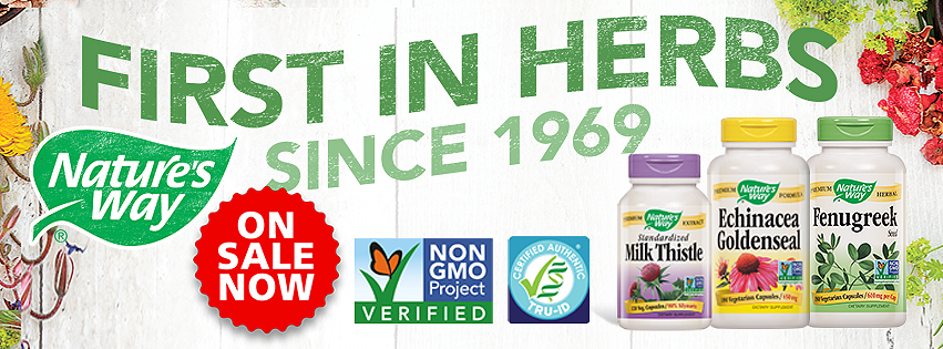 Nature's Way First in Herbs Since 1969!